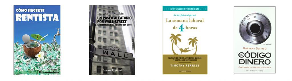 Libros interesantes para alguien que quiera alcanzar la independencia financiera