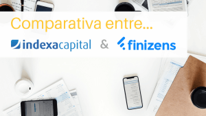 Opinión y comparativa entre Indexa Capital y Finizens