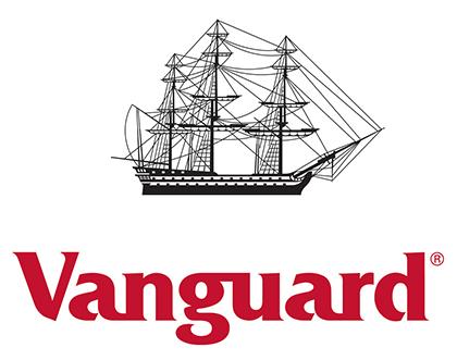Logotipo de Vanguard, la gestora de fondos indexados creada por Bogle