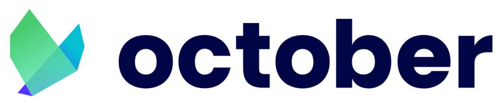 Logotipo de October, anteriormente conocida como Lendix