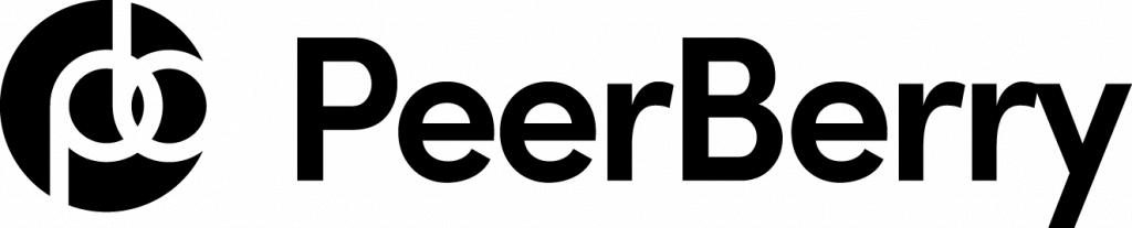 Logotipo de Peerberry, una plataforma de préstamos de los países bálticos