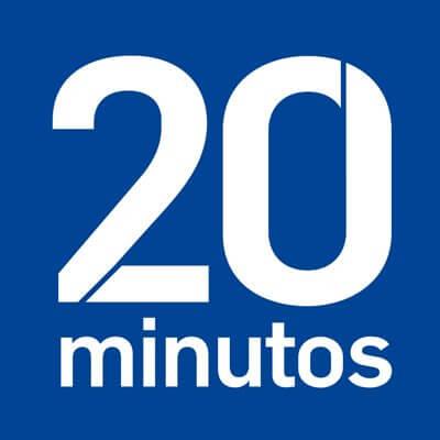 Logotipo del diario 20 minutos